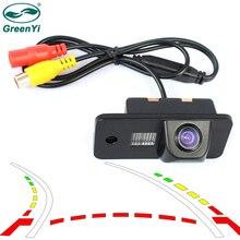 GreenYi интеллектуальная HD Автомобильная камера заднего вида для AUDI A3 S3 A4 S4 A6 A6L S6 A8 S8 RS4 RS6 Q7 траектория