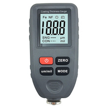 Digital Car Paint Thickness Gauge Display Auto Meter Metal Width Film Tester Coating Thickness Magnetic Measuring Instruments bside cct01 digital coating thickness gauge meter width measuring instruments f n probe tester 1300um 51 2mils