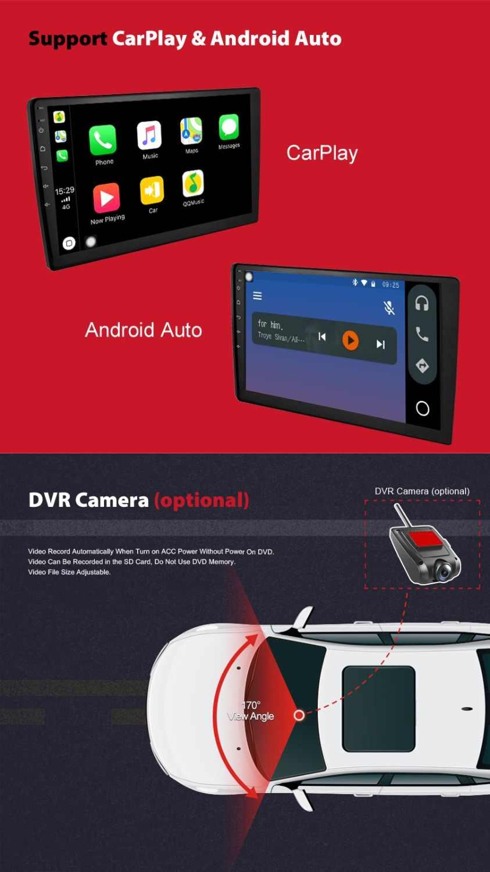 Akcesoria opcjonalne Android DVD OBD2 + 3G dongle + odbiornik DAB + kamera dvr USB tylko dla ELANMEY DVD
