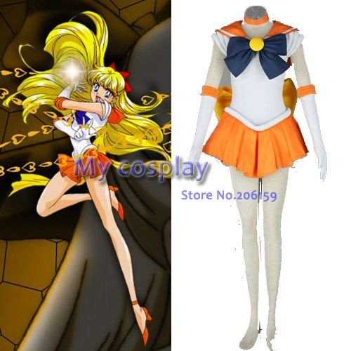 anime sailor moon sailor venus aino minako cosplay costume body skirt for women halloween dresses on aliexpresscom alibaba group