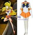 Anime Sailor Moon Sailor Venus Aino Minako Cosplay Costume Body Skirt For Women Halloween Dresses