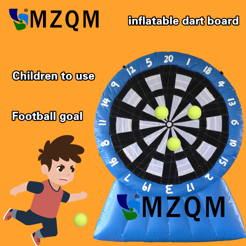 Hot Blue child use 2.5m/8.2ft height inflatable dart board inflatable football soccer dart board inflatable soccer darts gameHot Blue child use 2.5m/8.2ft height inflatable dart board inflatable football soccer dart board inflatable soccer darts game