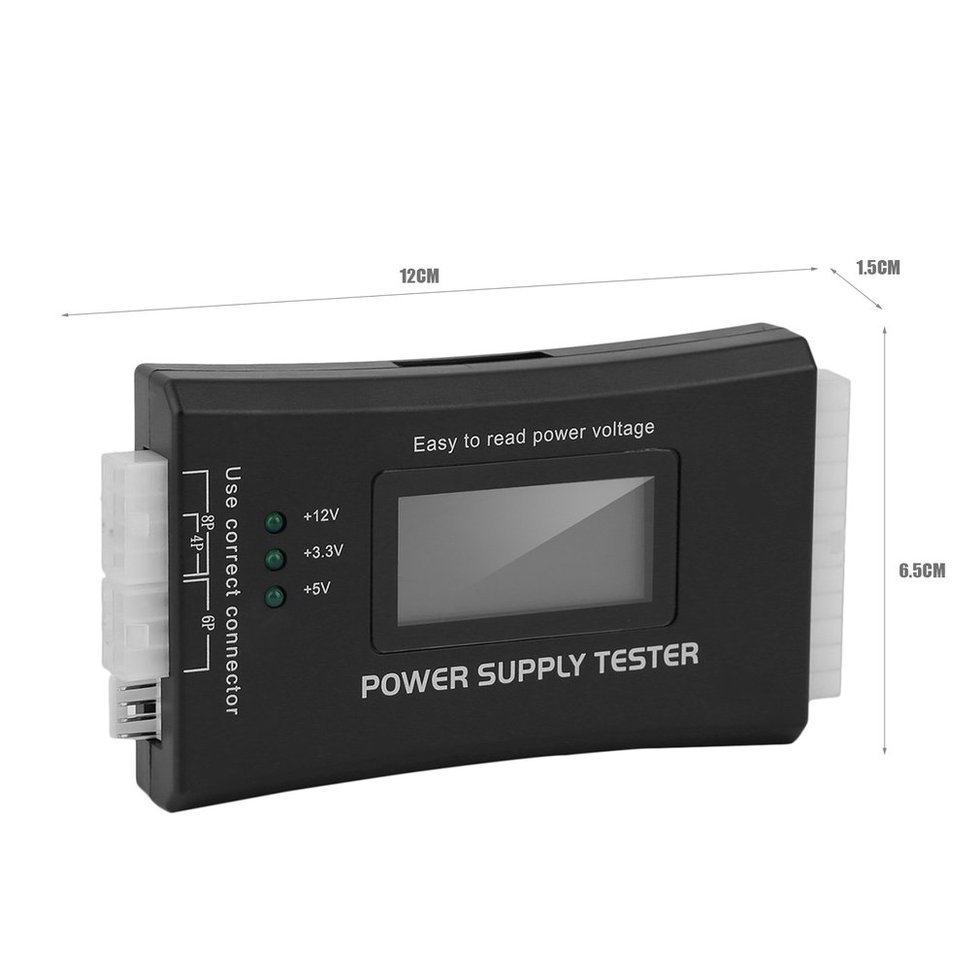 10PCS LCD Display Power Supply Tester for PC-power Supply/ATX /BTX /ITX Compliant стоимость