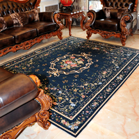Mediterranean Style Rugs And Carpets For Home Living Room Large Bedroom Area Rug Coffee Table Floor Mat Study/Restaurant Carpet