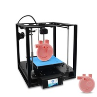 Full Closed 3D Printer Sapphire S Core XY CoreXY Structure Automatic Leveling Closed Drucker 3D Printer With Frame 220*220*200mm