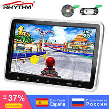 Car Headrest Monitor DVD Player 1024x600 Digital Screen USB/HDMI/IR/FM Touch Button Game Remote Control Support 32 Bit Game