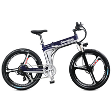 LOVELION Lithium Battery Electric Bicycle Ebike Hidden 400W High Speed Motor Abs Brake Folding Mountain Bike Carries Electrical