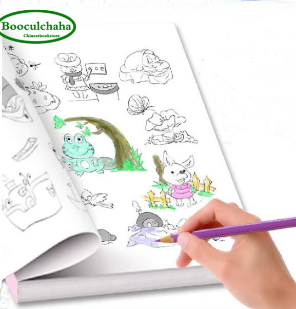 Cahier Coloriage Fruits.6000 Animal Fruits Legumes Usine Dessin Anime Bebe Dessin Livre