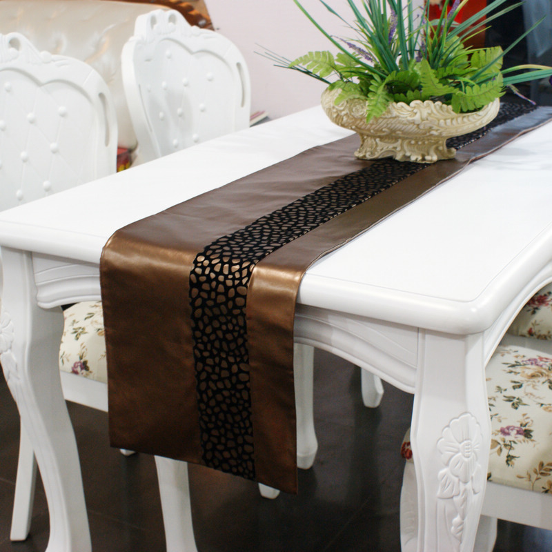Online Small Quality Pu Dining Table Runner Mat Coffee Fashion Luxury Brief Aliexpress Mobile