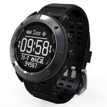 Gps Bluetooth Смарт часы UW80C Bluetooth Смарт часы Eink 1,2 дюймов водонепроницаемый монитор сердечного ритма gps термометр компас часы