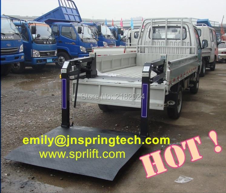Hydraulic Lift Tailgate : Hydraulic truck tail lift board loading platform for