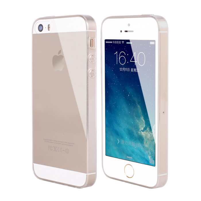 Ultra Thin Soft TPU Transparent Case For iPhone 5s 5 se Crystal Clear Silicone Coque Cover For iPhone 5 5s se Phone Bags Cases