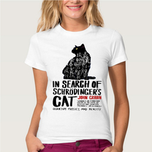 """Amazing """"In search of Schrodinger's Cat"""" women shirt"""