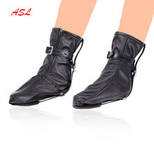 Kinky BDSM Bondage Soft PU Leather Boot Booties Feet Restraint Socks Female Foot , Fetish Slave Roleplay Sex Toys,Ankle Cuffs(China)