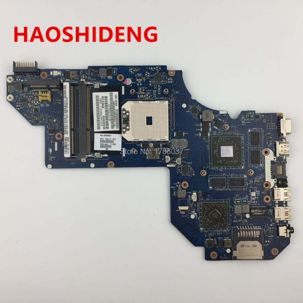 702177-501 QCL51 LA-8712P for HP ENVY M6 M6-1000 series motherboard HD7670M/2G.All functions 100% fully Tested !