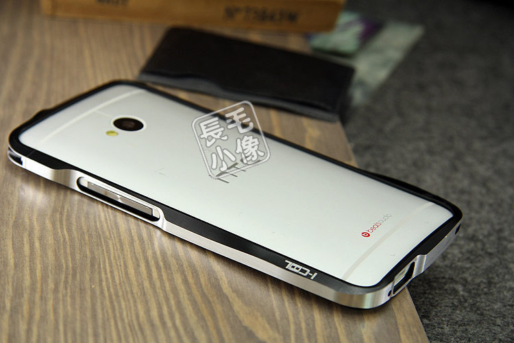 new style 8acd9 d4802 US $16.12 |Black Luxury Metal Aluminum Frame Bumper Hard Case for HTC One  M7 Black LYF23 on Aliexpress.com | Alibaba Group