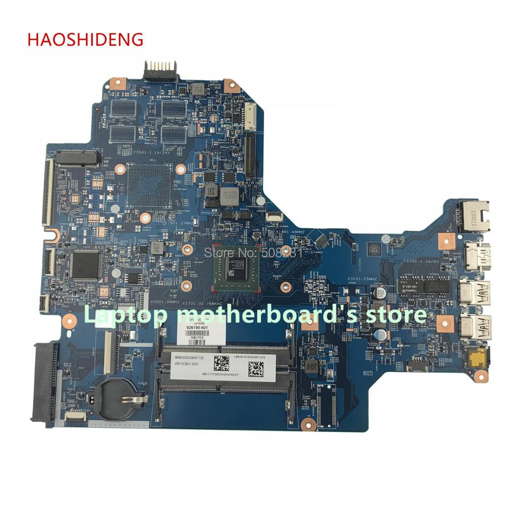 HAOSHIDENG 926190-601 448.0CB03.0011 mainboard For HP LAPTOP 17-AK 17Z-AK 17-AK061NR Laptop Motherboard A9-9420P fully Tested haoshideng 856765 601 856765 001 448 08g03 0011 mainboard for hp notebook 17 y 17z y 17 y088cl laptop motherboard with a8 7410