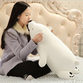 1pc 45cm Polar Bear Plush Toy Stuffed Toy Nanoparticle Stuffed Doll Polar Bear Nano Doll  birthday Gift For girlfriend  AND Kids
