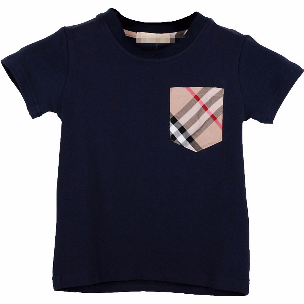 retail boy T-shirts pocket children t shirts kids clothes boy tops and tees children boy summer style kids clothing