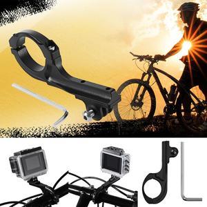 Image 2 - Alüminyum alaşım bisiklet bisiklet gidon Seatpost kelepçe dağı Gopro Hero 4 3 5 Xiaomi Yi 4K SJCAM kamera bisiklet klip kiti