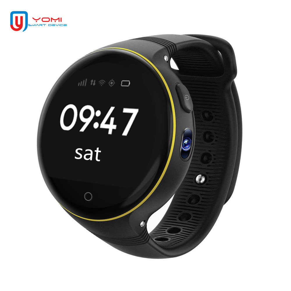 New GPS Smart Watch for Children Baby Touch Screen GPS Tracker Anti-lost Smart Finder Android Smart Watch for Girls Kids Gift