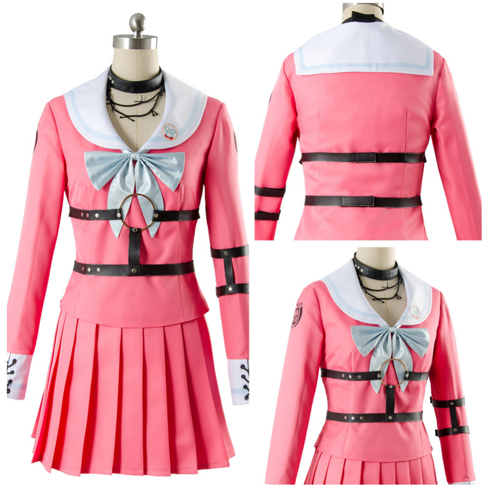 Danganronpa V3: Killing Harmony Iruma Miu Rabbit Cosplay Costume Halloween Christmas
