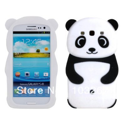 Cute Panda Baby Silicone Skin Soft Back Cover Case Samsung Galaxy S6 S5 S4 S3 MINI Phone Cases - New Swell store