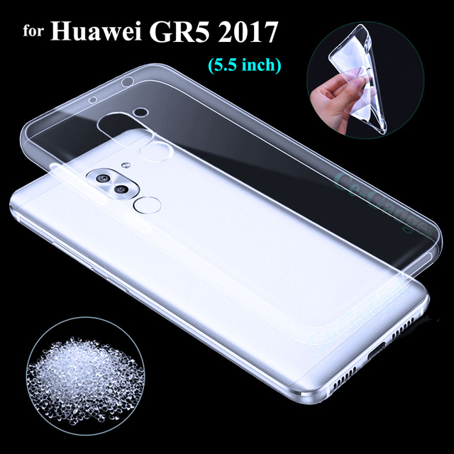 finest selection 47590 a2c73 US $13.99 |10Pcs for Huawei GR5 2017 Case, Clear Soft TPU Case for Huawei  GR5 2017 Phone Back Cover Silicone Cases Skin Capa (5.5inch)-in Fitted  Cases ...