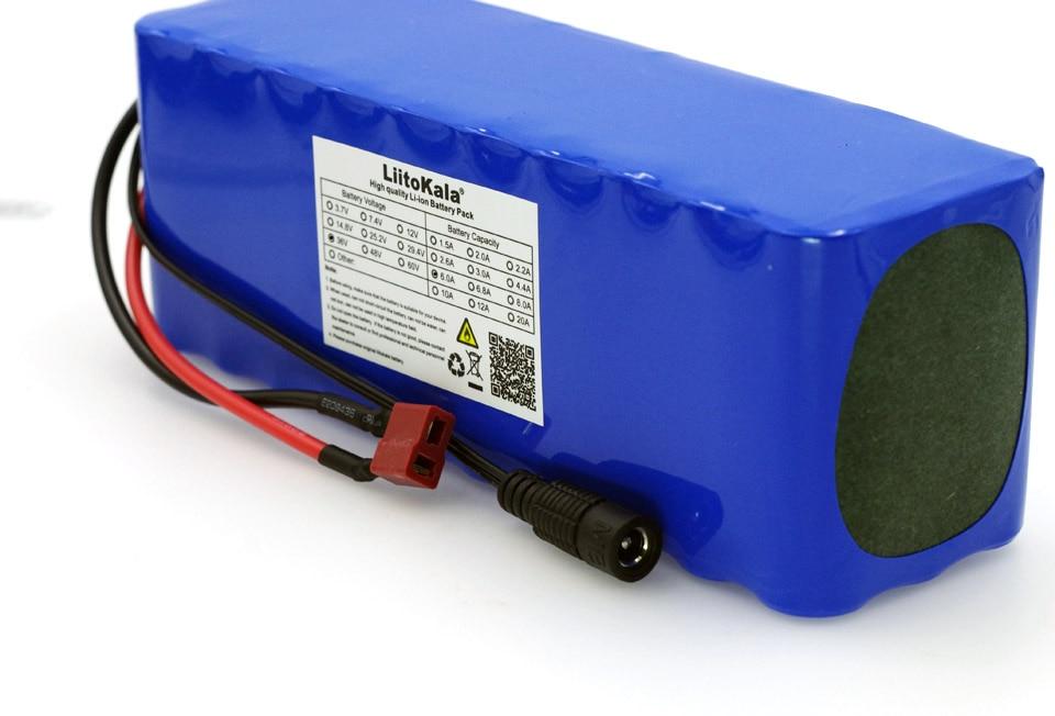 Batterie Rechargeable Liitokala 36V 6Ah 10S3P 18650, vélos modifiés, Protection de véhicule électrique avec PCB