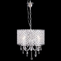 Ship from Germany! Chandelier Crystal Ceiling Pendant Lamp 4 Light Fixture Lighting Dining Room