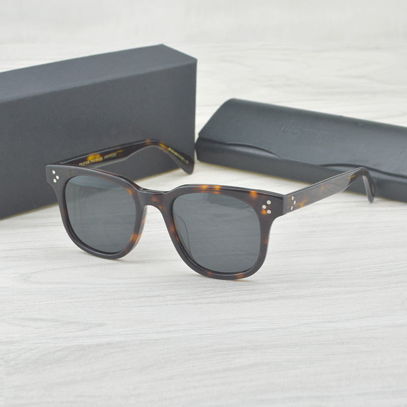 Fashion Oversized Vintage Sunglasses Brand Designer OV5236 Polarized Sun Glasses For Women Sqaure Sunglass Retro Female Eyewear