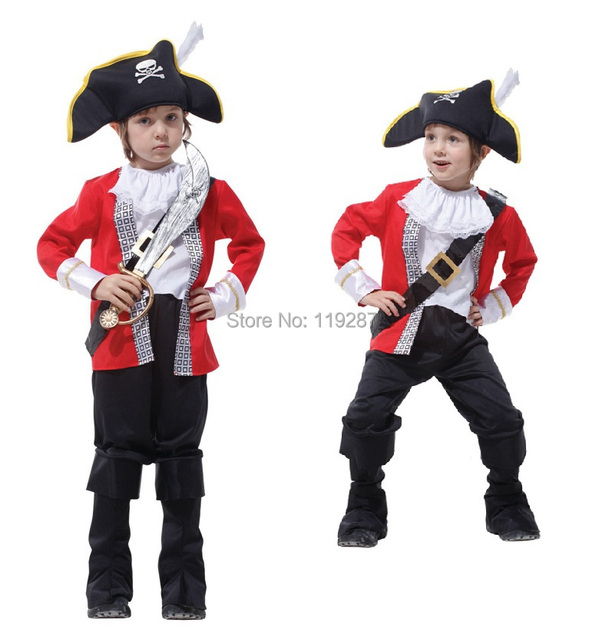 childrens classic halloween costumes boys hook pirate costume kids christmas carnival costume halloween costume for kids