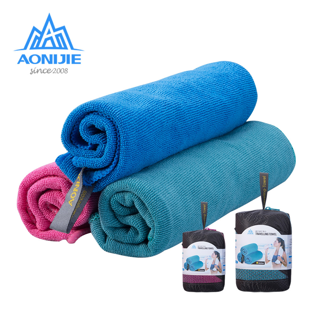 AONIJIE E4083 Microfiber Gym Bath Towel Travel Hand Face Towel Quick Drying For Fitness Workout Camping Hiking Yoga Beach microfiber sports and travel towel with bag beach towels quick drying bath camping campaign tourist swimwear yoga mat 2018 new