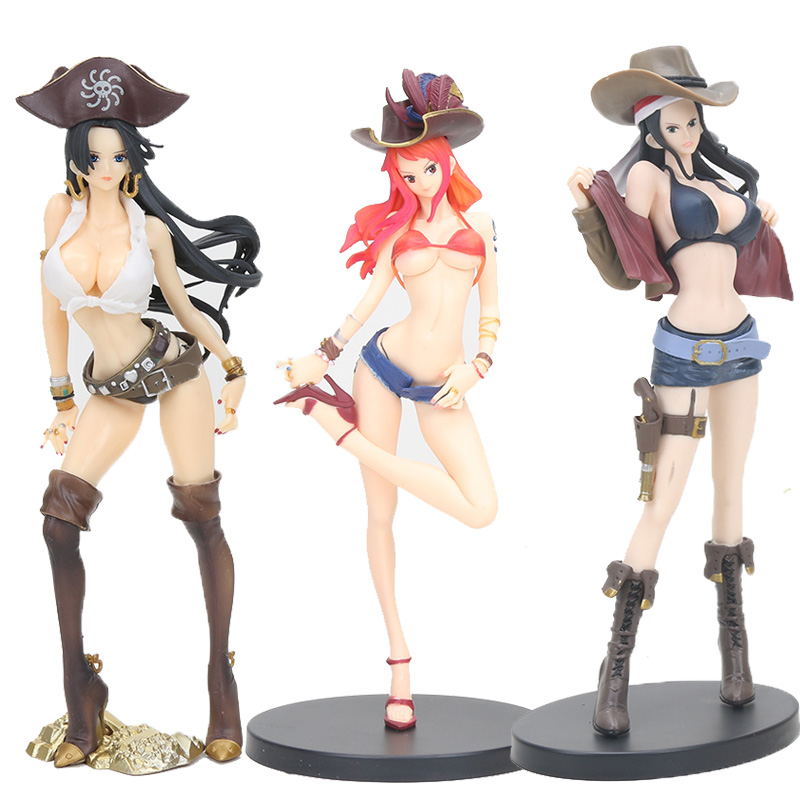 Toys & Hobbies Able Anime One Piece Figure Toys Boa Hancock Nami Vivi Vinsmoke Reiju Action Figure Flag Diamond Hancock Pirate Collection Model Orders Are Welcome.
