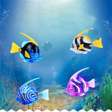 Bath Toys Attractive Swimming Robot Fish Activated In Water Magical Electronic Fun Funny Gadgets Interesting Toys For Children20