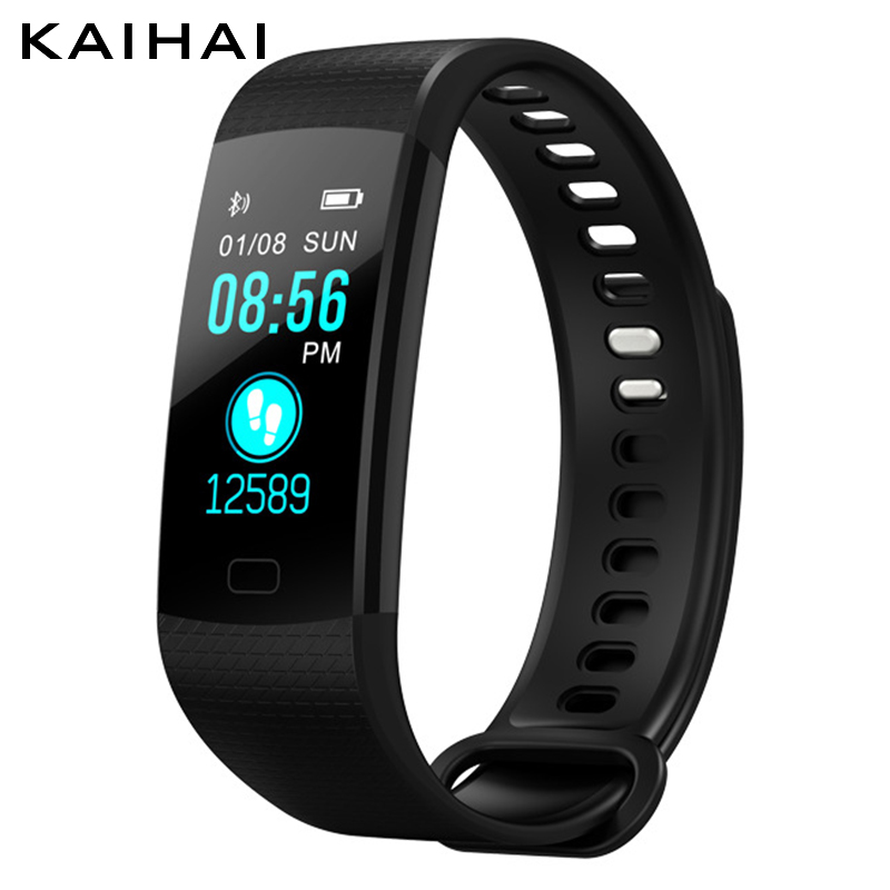 Kaihai Sport Smart Band Watch Wristband Heart Rate monitor Activity Fitness tracker Electronics Bracelet VS for Xiaomi Miband 3 y5 goral
