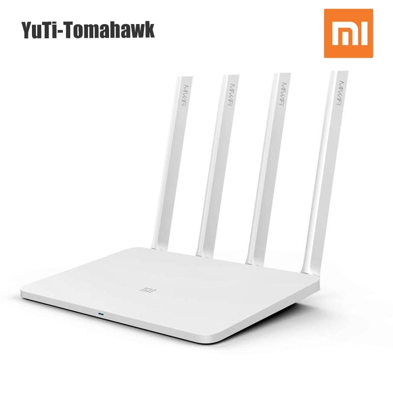 D'origine Xiaomi Mi Wifi Routeur 3 wi-fi Routeur Sans Fil 1167 Mbps 802.11ac Pare-Feu 2.4G/5G Portable wifi routeur Xiaomi Router3