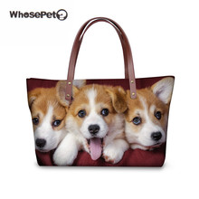 Cute Corgi Shoulder Bags for Women