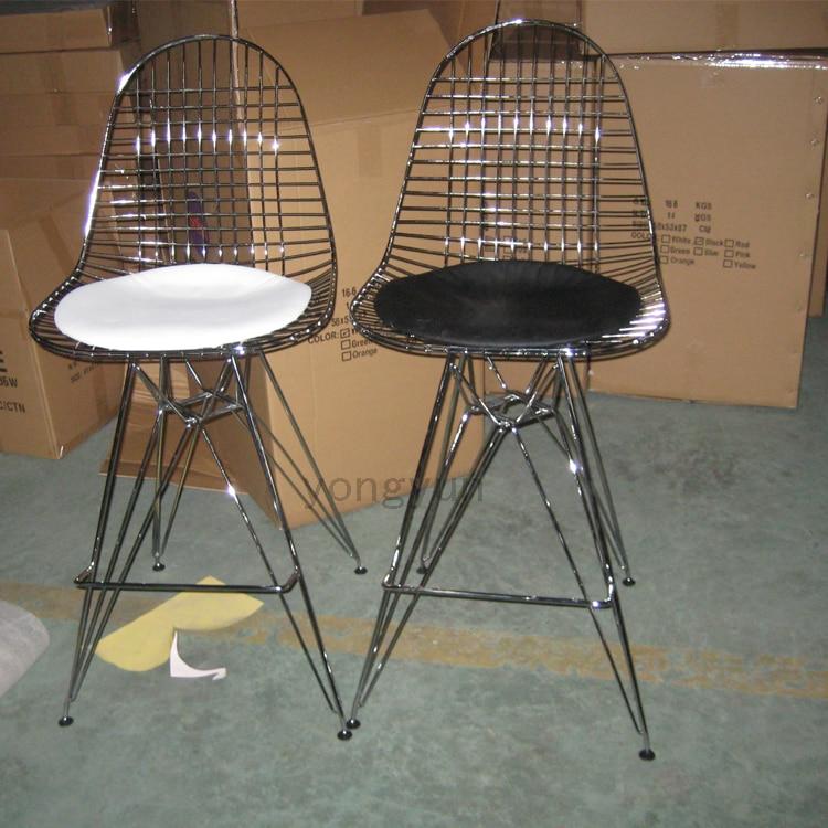 Minimalistischen Modernen Design Metall Stahl Draht kreative stühle ...