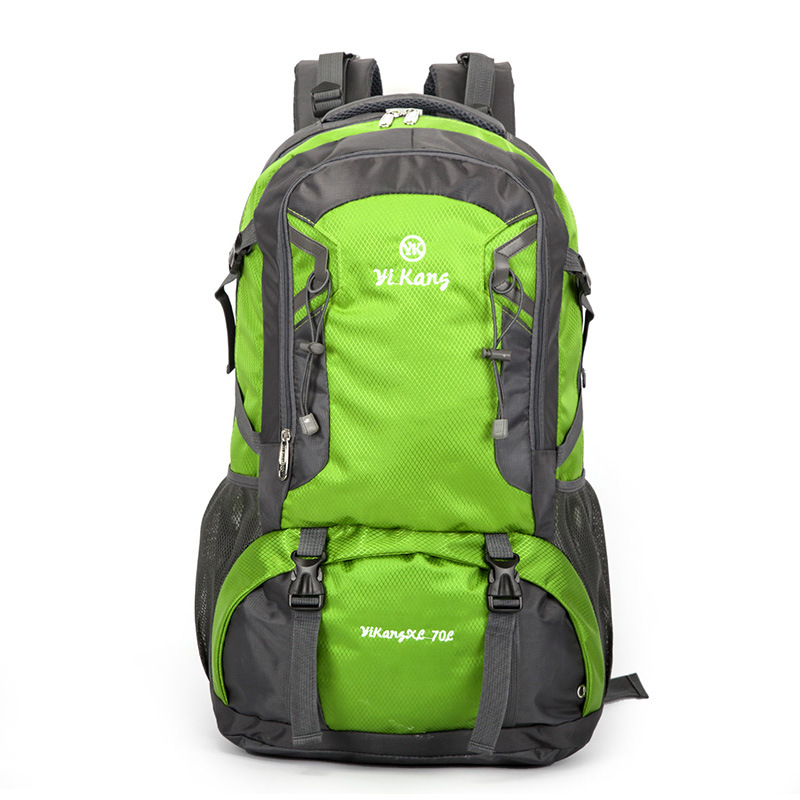 Waterproof Travel Hiking Backpack 70L, Sports Bag For Women Men, Outdoor Camping Climbing Bag, Mountaineering Rucksack
