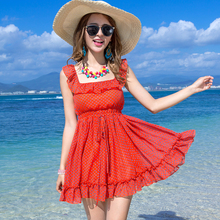 c024b7b9e1c plus big size women clothing dress 2016 summer korean vestidos Bohemian  beach evening party dress floral