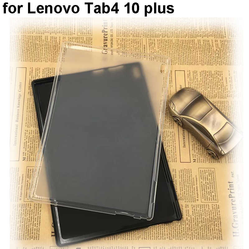 Voor Lenovo Tab4 10 Plus TPU soft cover capa beschermhoes fundas Shell voor Lenovo tab 4 10 plus TB-X704N X704F X704 Pouch