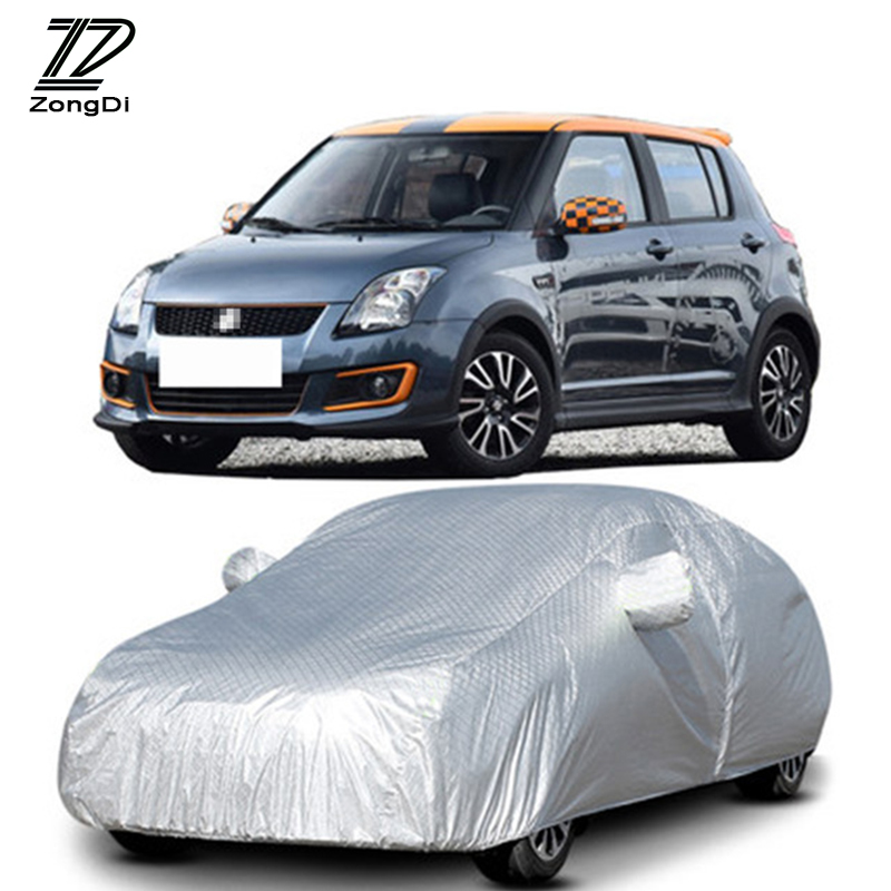 Black//Red Coverking Custom Fit Car Cover for Select Suzuki Swift Models Stormproof
