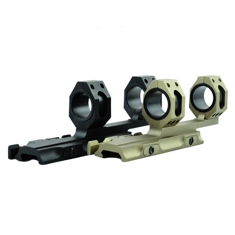 Tactical QD Mount 25mm-30mm Dual Ring Cantilever Heavy Duty Rifle Scope Mount