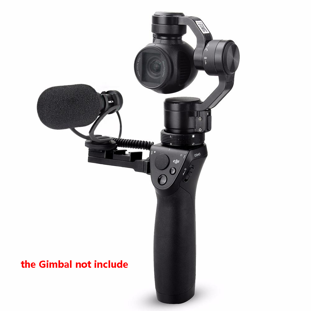 CVM-VM10 II Cardioid Directional Shotgun Video Microphone for DJI OSMO Mobile Plus Smartphone GoPro Micro Camera Black Mount CVM-VM10 II Cardioid Directional Shotgun Video Microphone for DJI OSMO Mobile Plus Smartphone GoPro Micro Camera Black Mount