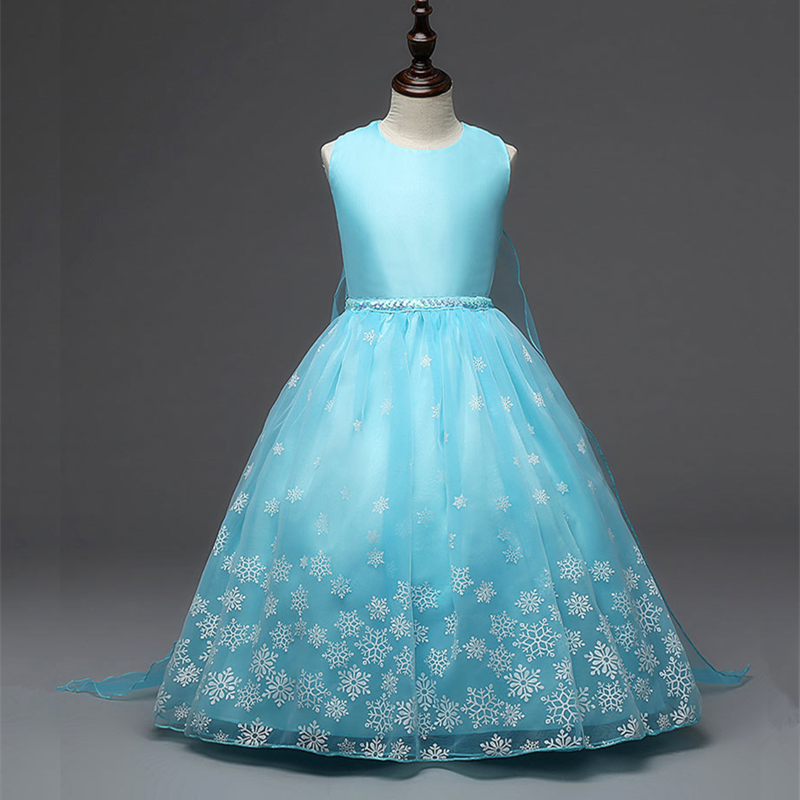 Wedding Flower Girl Dress Girls Party Wear Clothing Princess Dress Girls Prom Dresses Children Formal Clothes Girls Costume new flower girls dress summer kids girl clothing wedding party prom floral dresses sleeveless clothes children princess dress