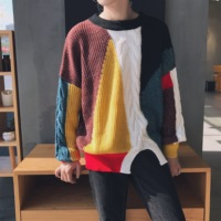 2017 Autumn High Street Sweater For Men/women Fashion Hip Hop Punk Long Sleeve Hole Pullover Sweater Male Loose Knitted Sweaters
