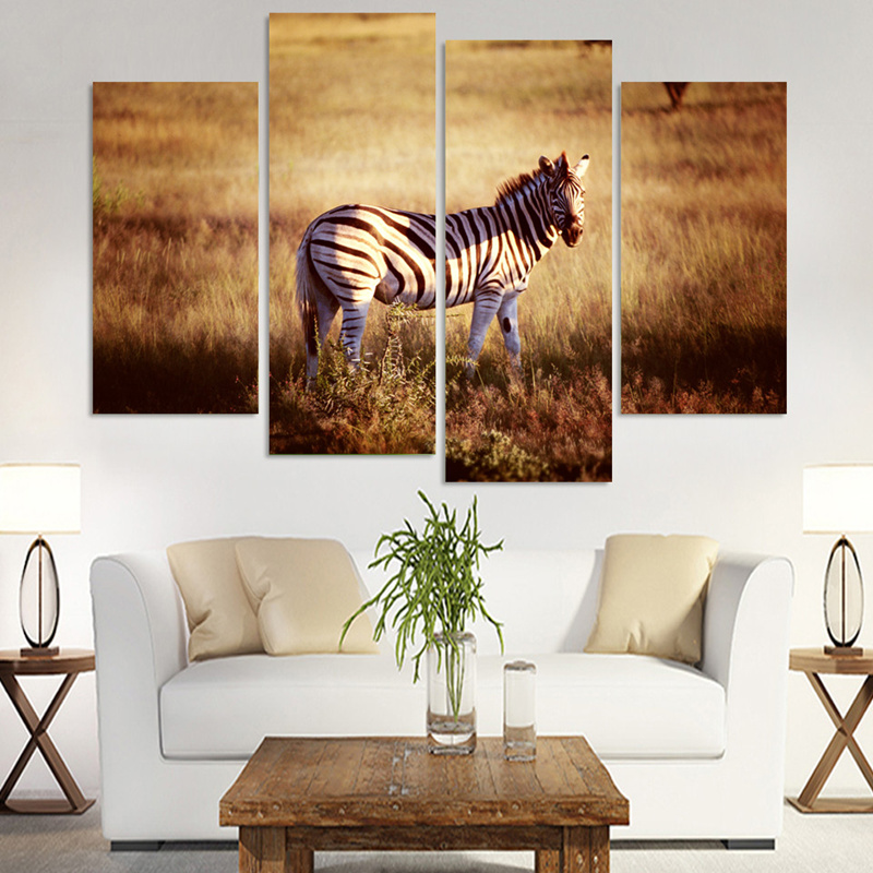 Animal Print Wall Art popular zebra wall art-buy cheap zebra wall art lots from china