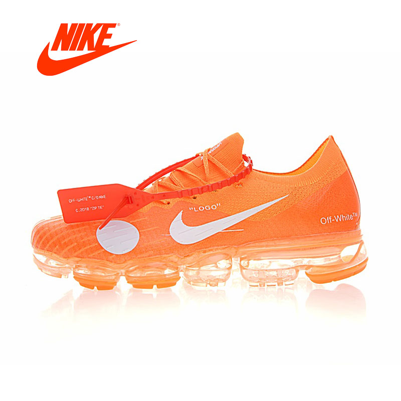 Original Authentic Nike Off White Max Mens Running Shoes Sneakers Sport Outdoor Comfortable Breathable male Athletic Low Top