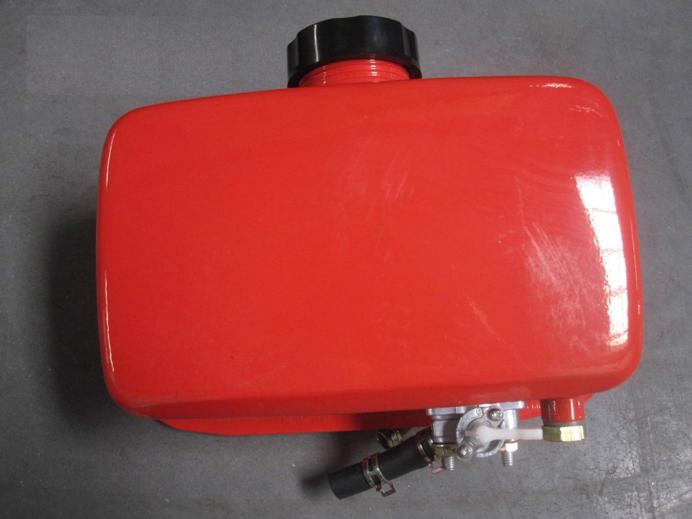 все цены на Fast shipping 170F Fuel Tank with cap filter switch air cooled sell suit for kipor kama and any Chinese brand